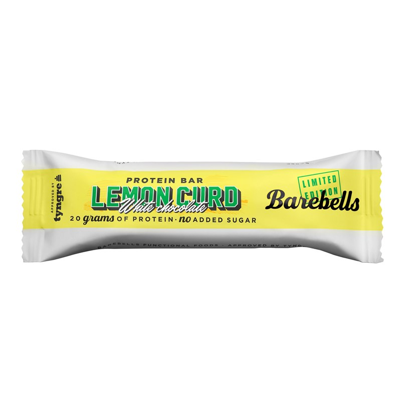 Barebells Protein Bar Lemon Curd White Chocolate 55 gram