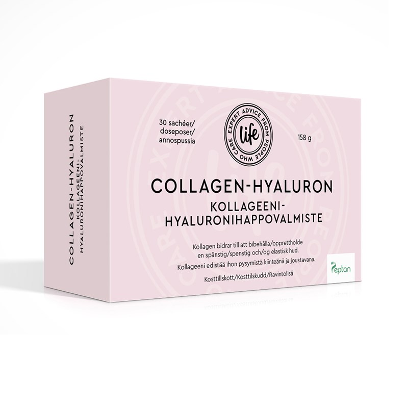 Life Collagen Hyaluron 30 påsar