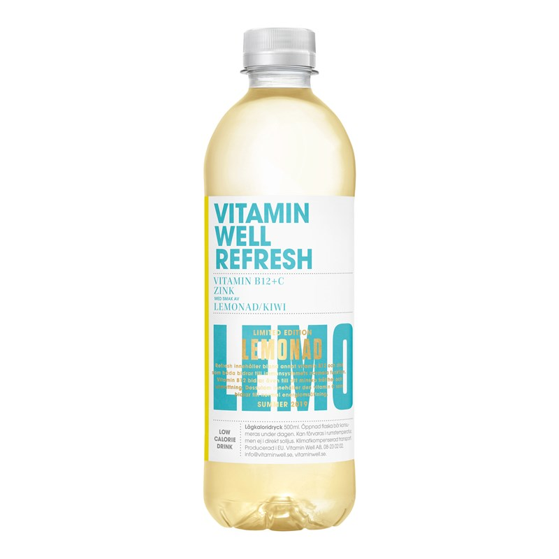 Witamin Well Refressh Lemon 500 ml